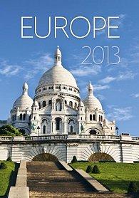 Kalendář nástěnný 2013 - Europe