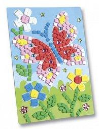 Mozaikový obrázek Motýl