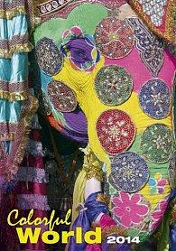 Kalendář 2014 - Colorful World - nástěnný