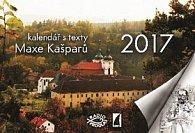 Kalendář s texty Maxe Kašparů - stolní kalendář 2017