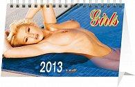 Kalendář 2013 stolní - Girls, 23,1 x 14,5 cm