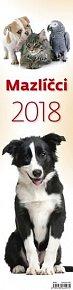 Kalendář nástěnný 2018 - Mazlíčci