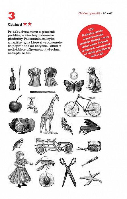 Náhled Cvičení paměti - 95 nápaditých her a úkolů pro všechny věkové kategorie