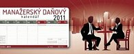 Kalendář 2011 - Manažerský daňový (33x13,5) stolní