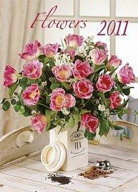 Kalendář 2011 - Kytice (33x46) nástěnný