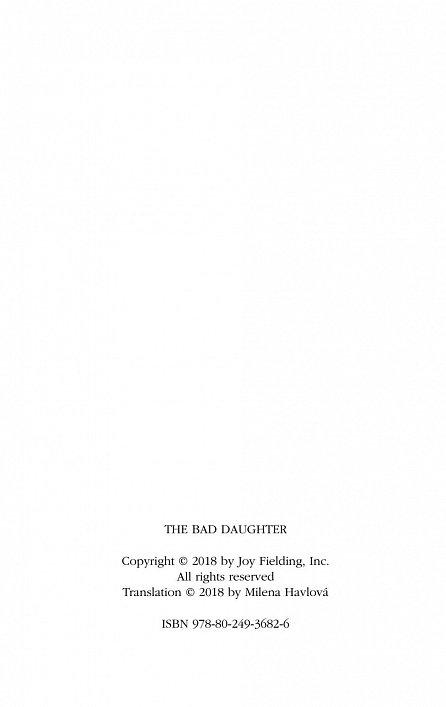 Náhled Špatná dcera