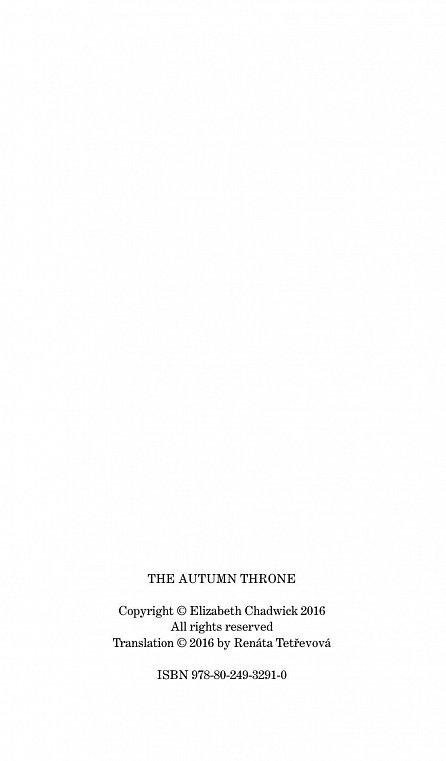Náhled Podzimní trůn