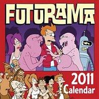 Futurama 2011 - nástěnný kalendář