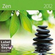 Kalendář nástěnný 2012 - Zen