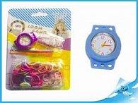 Gumičky 200ks s hodinkami a doplňky na kartě