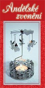 Vánoční svícen s andílky