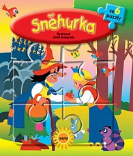 6x puzzle Sněhurka