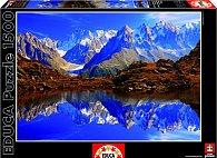 Puzzle Chamonix-Mont Blanck, Francie 1500 dílků