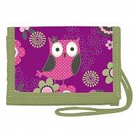 Peněženka na krk - Owl