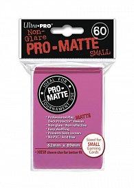 UltraPRO: 60 DP PRO Matte Small obaly - Růžová