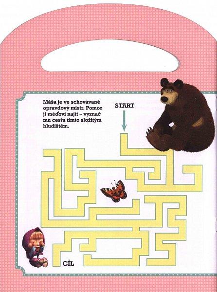 Náhled Máša a medvěd Knížka do ruky, Hra na schovávanou