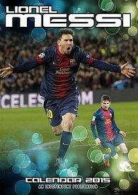 Kalendář 2015 - Lionel Messi (297x420)