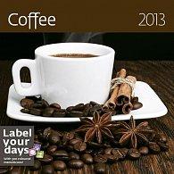 Kalendář nástěnný 2013 - Coffee