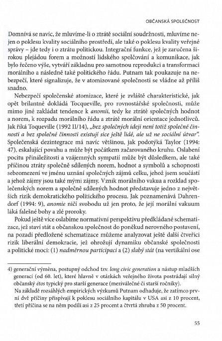Náhled Češi, občanská společnost a evropské výzvy