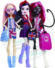 Monster High ECV celebrity tour