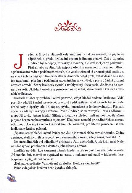 Náhled Nejkrásnější české pohádky s většími písmeny