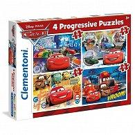Puzzle Progressive 4v1 Auta