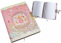 Zápisník  se zámečkem motiv Princenzna