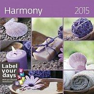 Kalendář nástěnný 2015 - Harmony