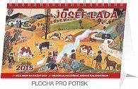 Kalendář 2015 - Josef Lada Podzim - stolní týdenní