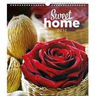 Kalendář nástěnný 2017 - Sweet home