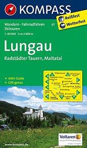 Lungau - Radstädter Tauern - Maltatal  67  NKOM