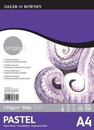 Daler - Rowney SIMPLY skicák na pastel A4, 150 g / m2, 16 listů