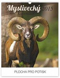 Kalendář 2015 - Myslivecký - nástěnný s prodlouženými zády