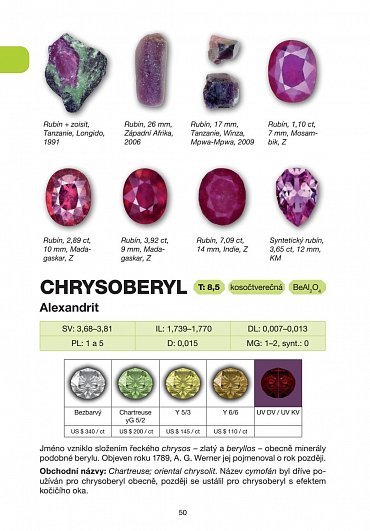 Náhled Encyklopedie drahých kamenů