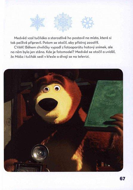 Náhled Máša a medvěd - Nezbedné pohádky o Máše