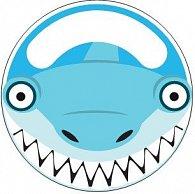 Držák na kartáček se žralokem