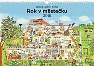 Kalendář nástěnný 2016 - Rok v městečku - Susanne Rotraut Berner,  48 x 33 cm
