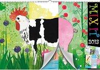 Kalendář 2013 nástěnný - MIX IT, 48 x 33 cm