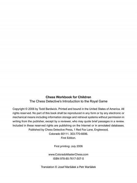 Náhled Učebnice šachu pro děti