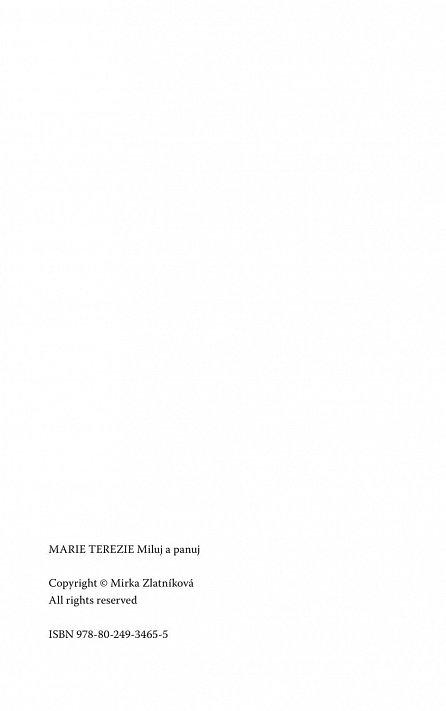 Náhled Marie Terezie - Miluj a panuj