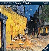 Kalendář 2014 - Vincent van Gogh - nástěnný poznámkový (ČES, SLO, MAĎ, POL, RUS, ANG)