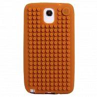 Samsung Note3 Pixel Case Hnědá