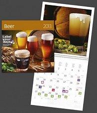 Beer - nástěnný kalendář 2013