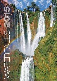Kalendář nástěnný 2015 - Waterfalls