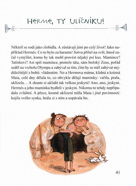 Náhled Řecké mýty pro děti - 20 nejznámějších mýtů starého Řecka