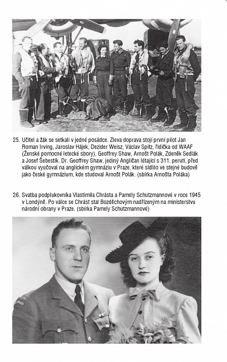 Náhled Svoboda v oblacích - Osudy českého letce RAF Václava Bozděcha a jeho vlčáka Antise