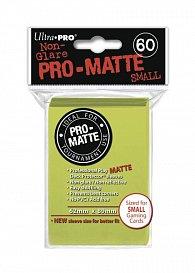 UltraPRO: 60 DP PRO Matte Small obaly - Žlutá