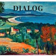 Kalendář nástěnný 2016 - Dialog - Krajiny v českém umění,  48 x 46 cm