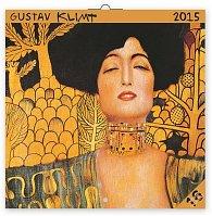 Kalendář 2015 - Gustav Klimt - nástěnný (CZ, SK, HU, PL, RU, GB)