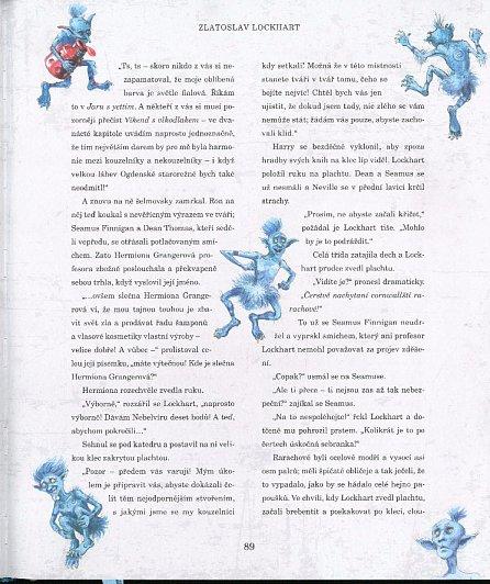Náhled Harry Potter a Tajemná komnata - ilustrované vydání